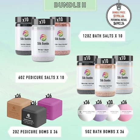 Silk Bombs  (CBD Spa Products): Product image 2