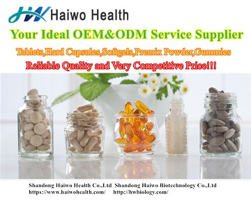 Shandong Haiwo Health Co: Exhibiting at the White Label Expo London